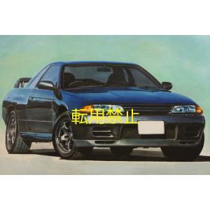 R32スカイラインGT-R手書きイラスト|energy
