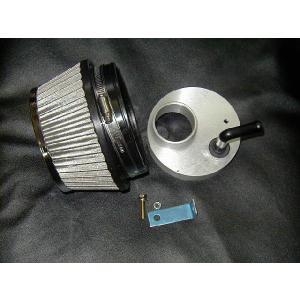 ムーヴL150系ステンメッシュエアークリーナー|energy