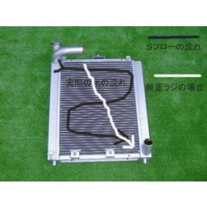 シビックEG/EK★Sフロー3層ラジエター|energy
