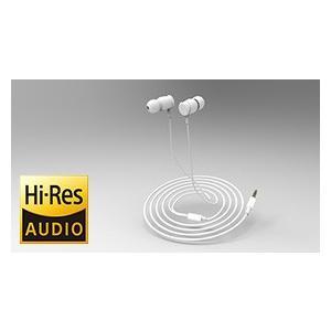 RWC/X-RIDE  カナル型 ハイレゾ音源対応ステレオイヤホン (白)ハイレゾ対応|energy