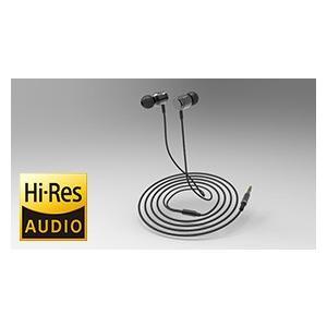 RWC/X-RIDE  カナル型 ハイレゾ音源対応ステレオイヤホン (黒)ハイレゾ対応|energy