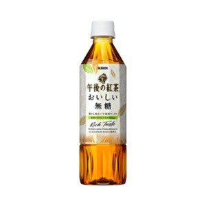 〔まとめ買い〕キリン 午後の紅茶 おいしい無糖 ペットボトル 500ml 48本入り(24本×2ケー...