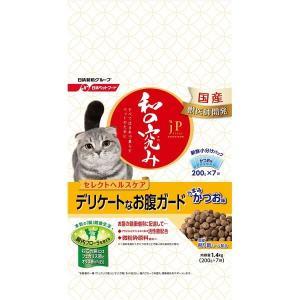 (まとめ)JPスタイル 和の究み 猫用セレクトヘルスケア デリケートなお腹ガード 1.4kg (ペッ...