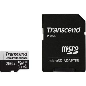 トランセンド 256GB マイクロSDHCカード UHS-I U3 A2 TS256GUSD340V...
