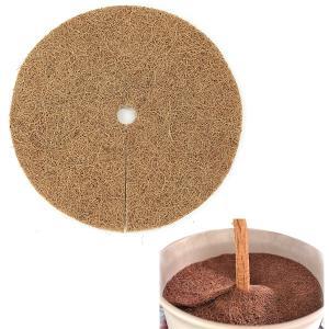 ヤシ繊維円盤マット直径25cm 10枚セット engei