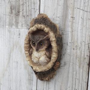 オーナメント:フクロウの寝床(壁掛け) engei