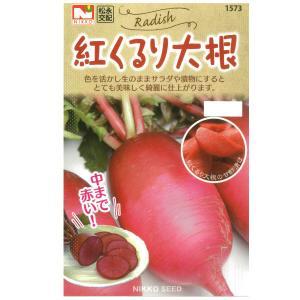 ダイコン(大根):紅くるり大根 野菜タネ|engei