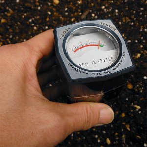 起電式土壌酸度測定器DM-13
