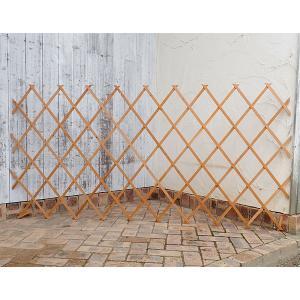 木製伸縮トレリス:100×200cm カントリーウッド engei