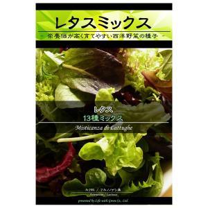 レタスミックス:13種ミックス 野菜タネ *