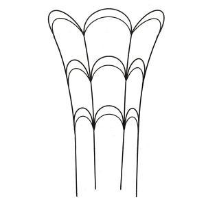 フラワーガード(M)AFG01-60(高さ62cm) engei