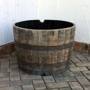 サントリー樽ものがたり:古樽半切りプランター180リットル engei