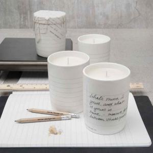 アロマ キャンドル プレゼントに人気の香り おしゃれな 書き込める器入り ノーティッド|enitusa