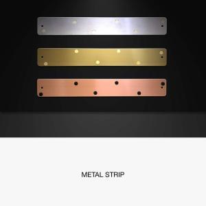 壁面収納 マグネット ボード おしゃれな 壁掛け メタル ストリップ ショート 新生活 応援グッズ