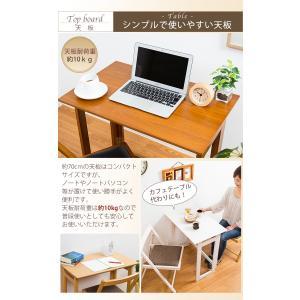 木製 フォールディングテーブル 折りたたみ コンパクト テーブル デスク 省スペース 収納 持ち運び|enjoy-home|06