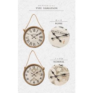 掛け時計 ウォールクロック 壁掛け時計 直径60cm 大型タイプ パイレーツ風デザイン 海賊デザイン シンプル インテリア|enjoy-home|02