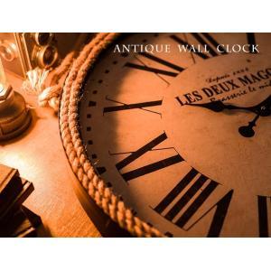 掛け時計 ウォールクロック 壁掛け時計 直径60cm 大型タイプ パイレーツ風デザイン 海賊デザイン シンプル インテリア|enjoy-home|09