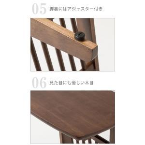 サイドテーブル コの字タイプ マガジンラック付き ベッドサイド ソファサイド テーブル 机 つくえ PU塗装 小物置き|enjoy-home|12