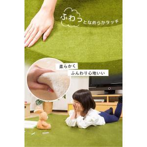 ラグ カーペット 洗える 3畳 長方形 200×250cm フランネル 滑り止め ウォッシャブル ホットカーペット対応|enjoy-home|05