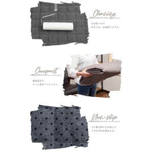 キルトラグ ラグマット カーペット 3畳 200×300 デニム地 洗える オールシーズン 長方形|enjoy-home|09