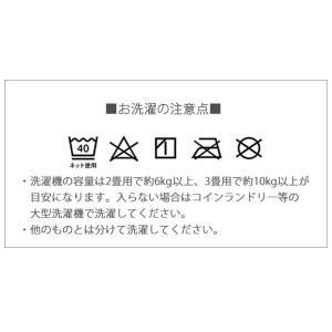 ラグ ラグマット 3畳 洗える ひんやりラグ カーペット ボーダー柄 プリント柄 冷感 三畳 長方形 ウォッシャブル 訳あり|enjoy-home|10