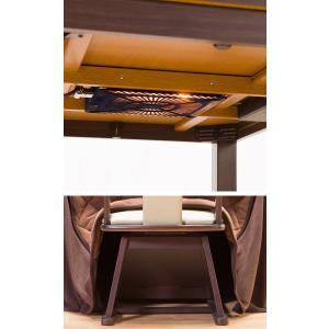 こたつ ダイニングこたつセット 4点セット 80×80cm 正方形 保温性 素早く温まる メーカー保証1年付き こたつ 掛け布団 チェア|enjoy-home|08