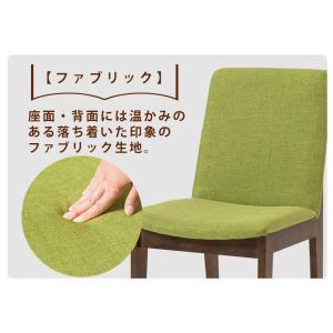 ダイニングチェア チェアー 2脚セット ファブリック 木脚 クッション 背もたれ 2脚組 椅子 イス シンプル|enjoy-home|07