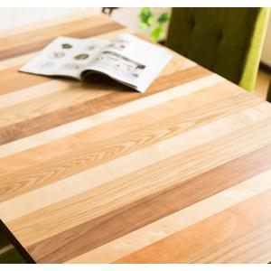 ダイニングテーブル 長方形 135cm幅 突板 ダイニング テーブル単品 木の質感 PU塗装 アジャスター付き おしゃれ|enjoy-home|08