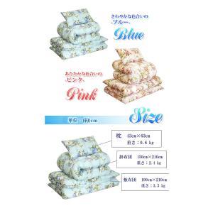 布団セット シングル 布団カバーセット シングル 日本製 洗える 6点セット 防ダニ  ほこりが出にくい|enjoy-home|03