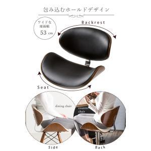 カウンターチェアー カウンターチェア 木製 プライウッド 合成皮革 おしゃれ|enjoy-home|05