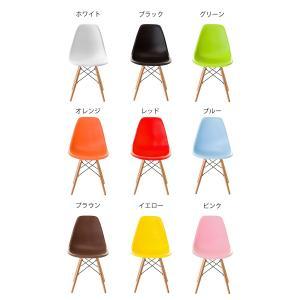 イームズチェア 2脚セット リプロダクト DSW eames ダイニングチェア シェルチェア ジェネリック家具 木脚 チェア 椅子 イス デザイナーズ 訳あり|enjoy-home|02