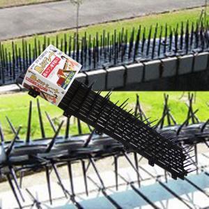 タテ・ヨコ連結できる。 鳥のフン害予防に。 物干し竿・ベランダ・エアコンの室外機・軒下・窓のひさし等...