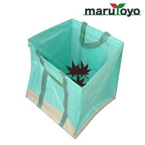 自立型便利袋 ガーデンスタンドバッグ 55cm×55cm×60cm 約180L グリーン 【ガーデンバッグ】【ガーデンBAG】【落ち葉入れ】【ゴミ分別】 【雑草】【収穫】