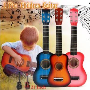 ミニギター アコースティックギター 6弦 子供 初心者 21インチ