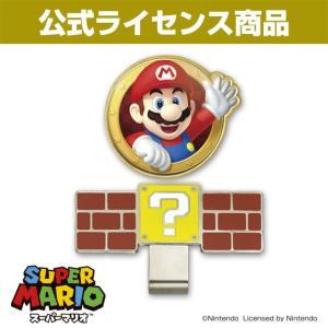 【ゆうパケット送料無料】スーパーマリオ ゴルフマーカー(マリオ)|enjoycb
