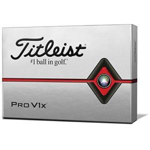 タイトリスト(TITLEIST) ゴルフボール 2019 Pro V1X ダブルナンバー ユニセックス T2046S-LEJ ホワイト|enjoylife2430