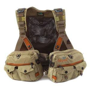 Fishpond フィッシュポンド Vaquero tech Pack Vest OS Driftwood テックパック フィッシングベストスト [並行輸入品]|enjoylife2430