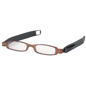 おしゃれな折りたたみコンパクト携帯老眼鏡 ライブラリーコンパクト5300リーディンググラス|enneashop
