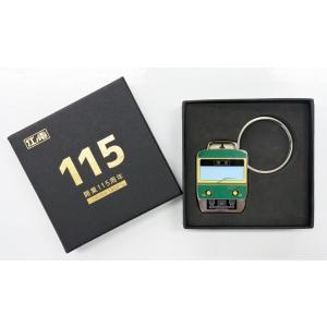 開業115周年ダイカットメタルキーホルダー|enoden-goods