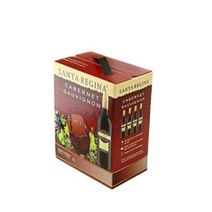 送料無料 サンタ レジーナ カベルネソーヴィニヨン バッグインボックス 3000ml 3L  赤ワイン 13.5度 チリ|enokishouten