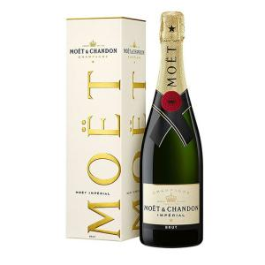 送料無料 モエ エ シャンドン ブリュット アンペリアル 750ml 白 スパークリングワイン シャンパン 辛口 12度 並行輸入品 箱付|enokishouten