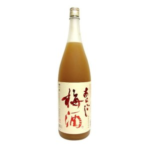 送料無料 梅乃宿 あらごし梅酒 12度 1800ml 梅酒 リキュール 12度 梅乃宿酒造 国産梅使用|enokishouten