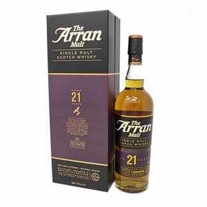 送料無料 アラン モルト 21年 700ml シングルモルト スコッチ ウイスキー 洋酒 46度 正規品 箱付 enokishouten