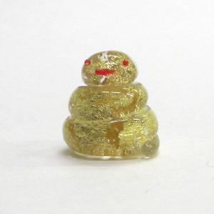お岩屋 金箔巳 江の島の守り神 ガラス細工 雑貨 置物|enoshimahook