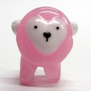 サル ピンク 干支 ガラス細工 雑貨 置物|enoshimahook