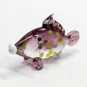 カワハギ ガラス細工 雑貨 置物|enoshimahook