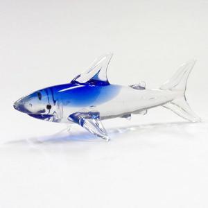 サメ ガラス細工 雑貨 置物|enoshimahook