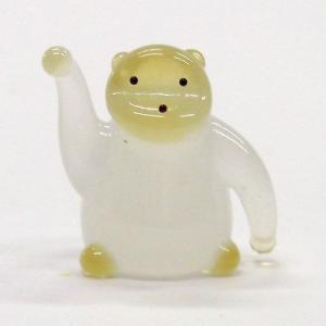 ゴリラ S ガラス細工 雑貨 置物 enoshimahook