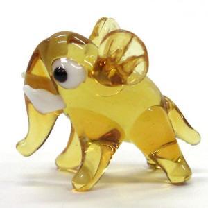 アフリカゾウ ガラス細工 雑貨 置物 enoshimahook