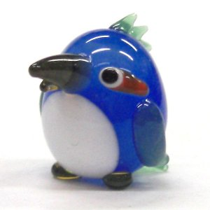 かわせみ 鳥 ガラス細工 雑貨 置物|enoshimahook